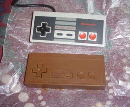 Vintage Video Game Chocolates