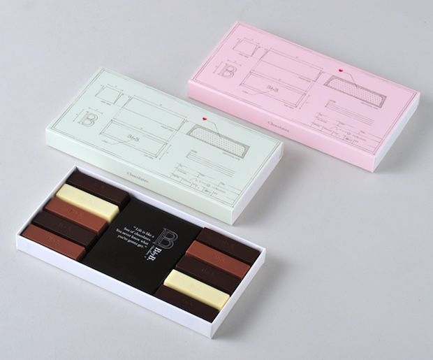 Blueprint Chocolate Boxes