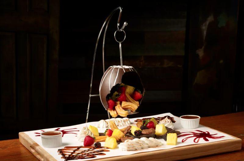 Chocolate Pinata-Inspired Desserts