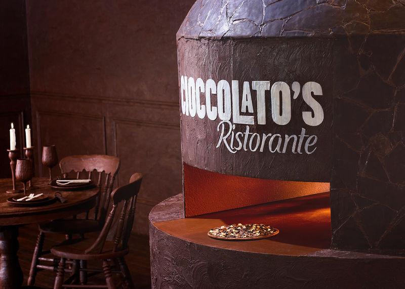 All-Chocolate Pizzeria Pop-Ups