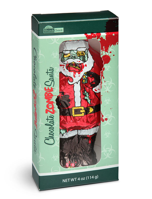 Zombified Holiday Chocolates