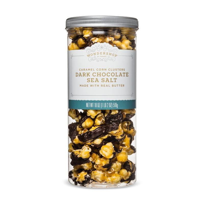 Chocolaty Sea Salt Popcorn