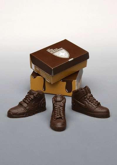 Chocolate Trainers
