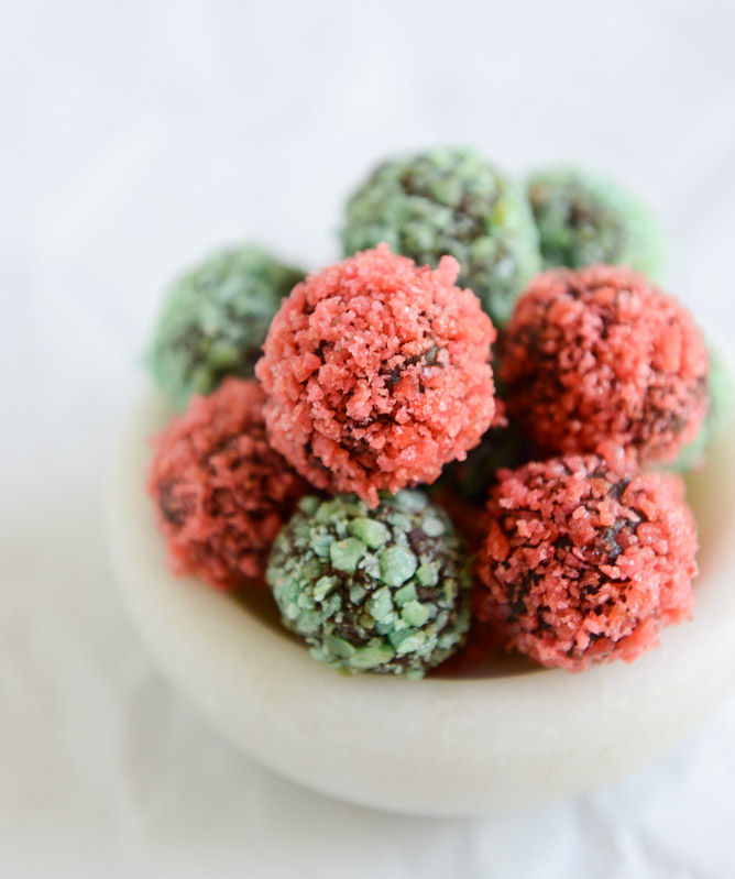 Explosive Candy Truffles