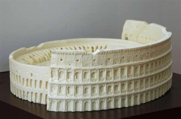 Edible Ancient Architecture