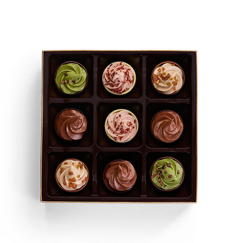 Cupcake-Inspired Chocolates