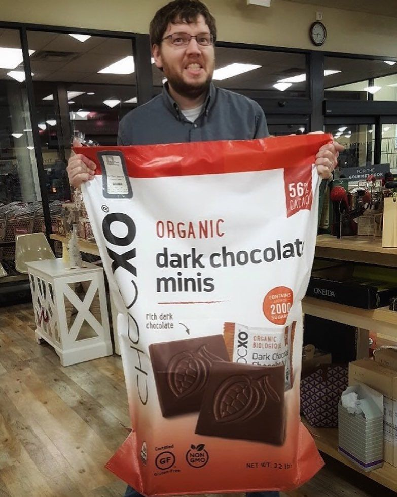 3-Foot-Tall Chocolate Bags