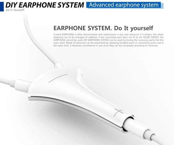 Eco DIY Earphones