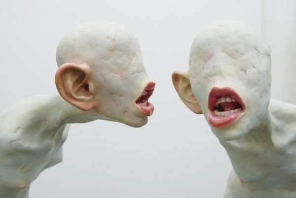 Freaky Faceless Sculptures