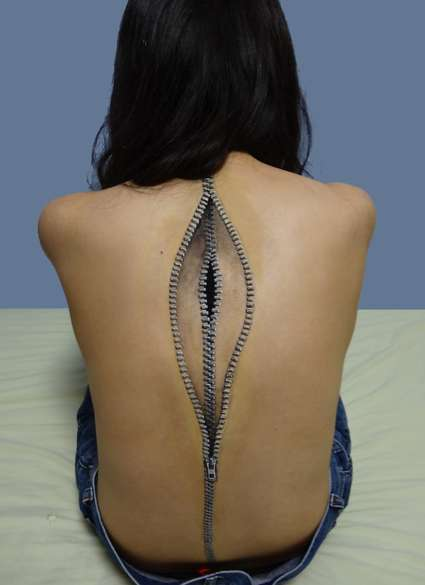 Spine-Chilling Makeup Illusions