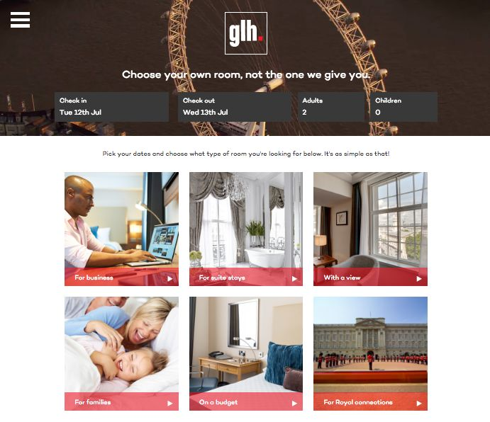 Customizable Hotel Bookings