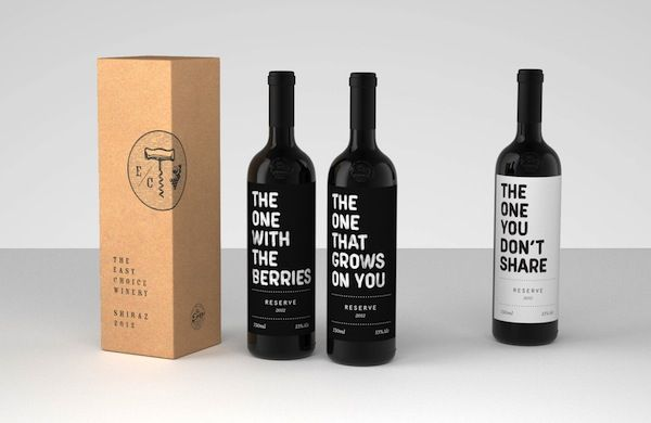 Playfully Punchy Wine Branding