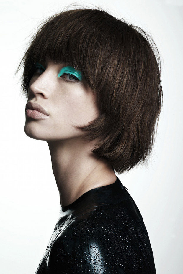 Chopped Hair Editorials