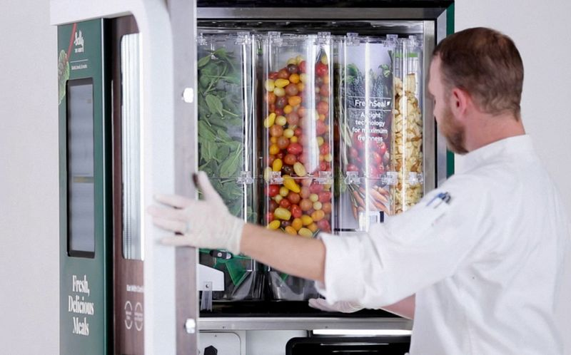 Next-Generation Automated Salad Servers