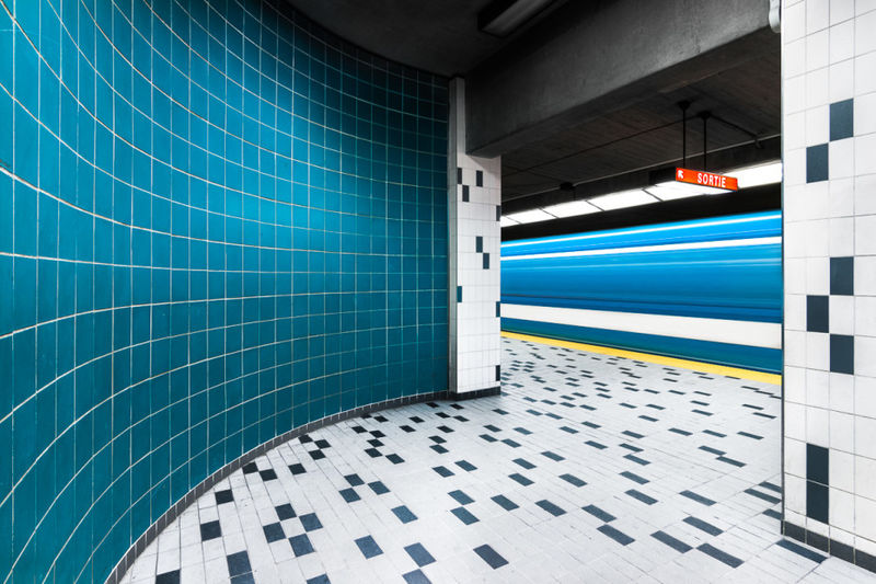 Artist-Adorned Subway Stations