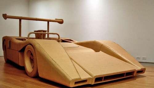 Cardboard Cars