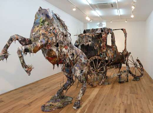 Dangerously Disheveled Sculptures
