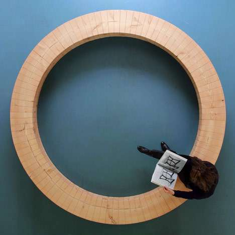 Circular Wooden Seating