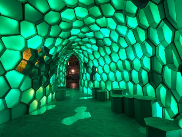 LED Honeycomb Structures