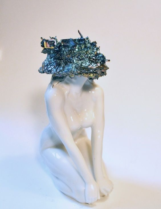 Crystallized Porcelain Figurines