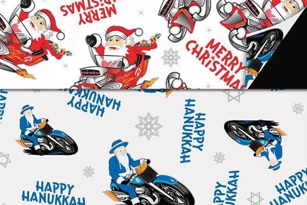 Dual Holiday Wrapping Paper