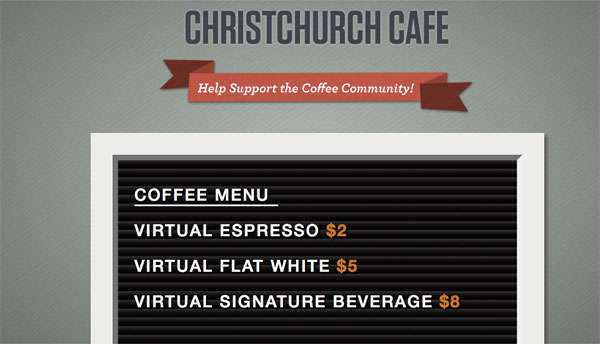 Virtual Charity Cafes