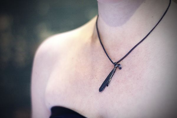 Bondage Novel-Inspired Jewelry