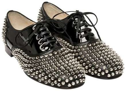 ae5e7ff452d2 Studded Jazz Shoes   Christian Louboutin Freddie Flats