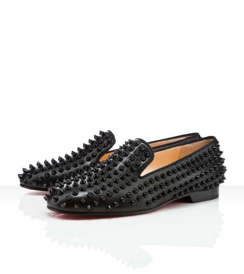 Luxurious Studded Loafers