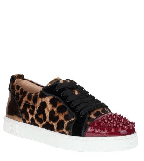 Safari Print Couture Sneakers
