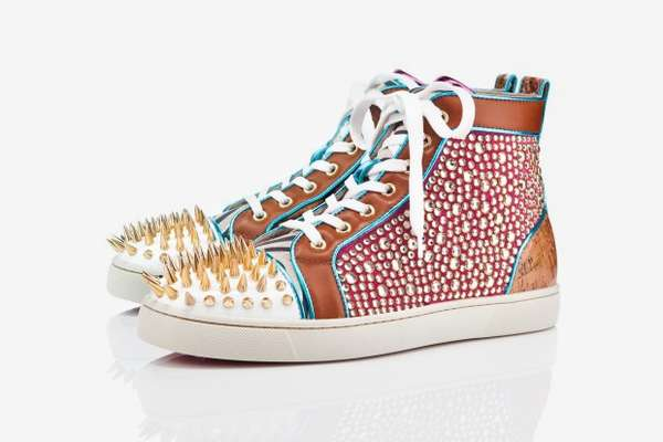 Spiked Bejeweled Sneakers