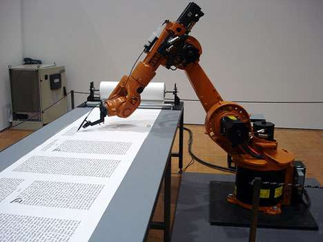 Robot Rewrites The Bible