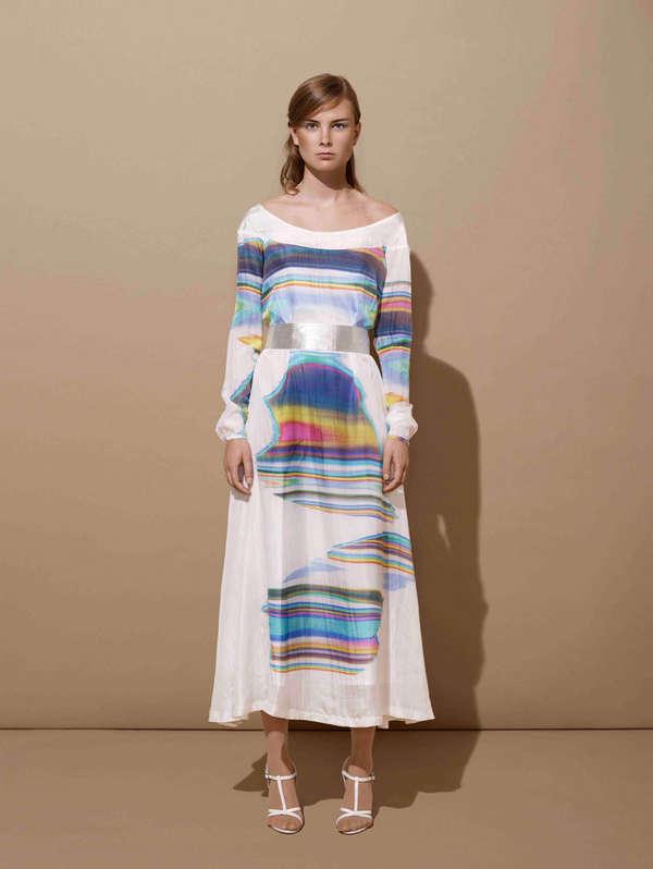 Painterly Womenswear Catalogs