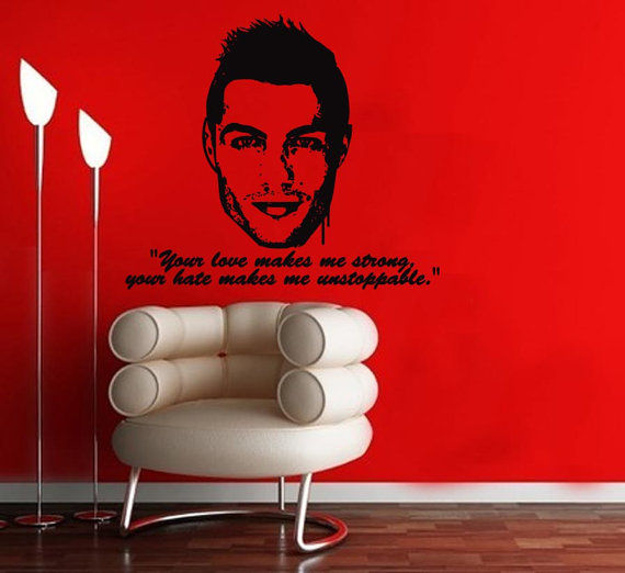 Inspirational Soccer Star Decor