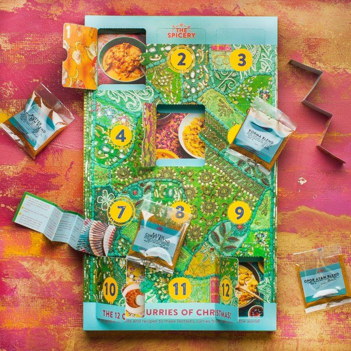 Curry-Filled Advent Calendars