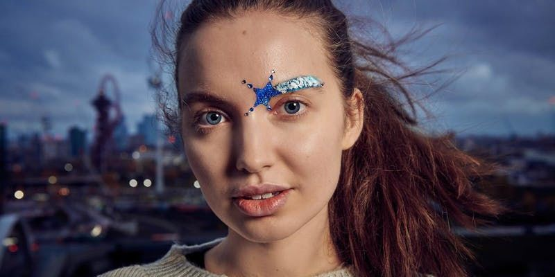Festive Eyebrow Pop-Ups