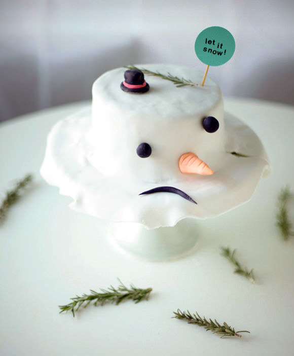 Melted Snowman Confections
