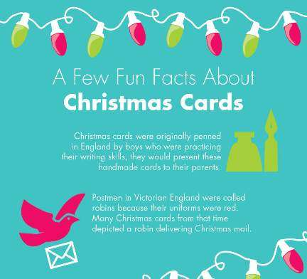 Holiday Greeting Infographics : Christmas Card Infographic