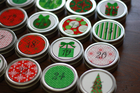 Christmas Countdown Magnets