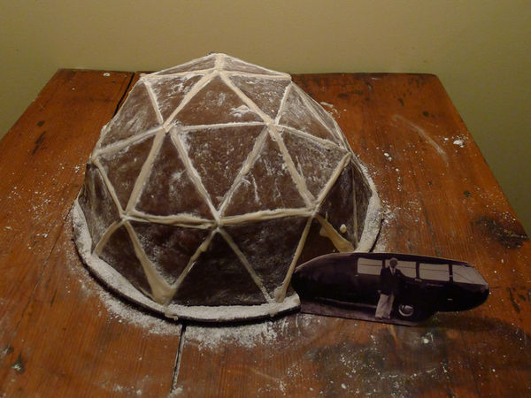 Geodesic Gingerbread Domes