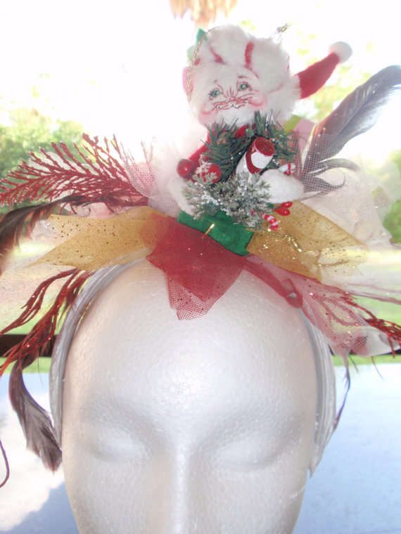Santa's Little Helper Fascinators