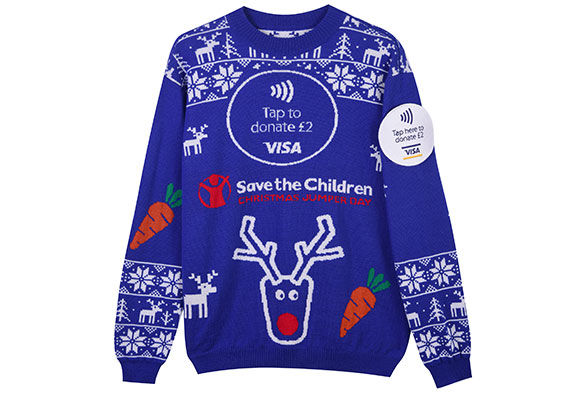 Contactless Christmas Sweaters