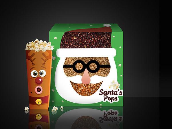 Festive Popcorn Boxes