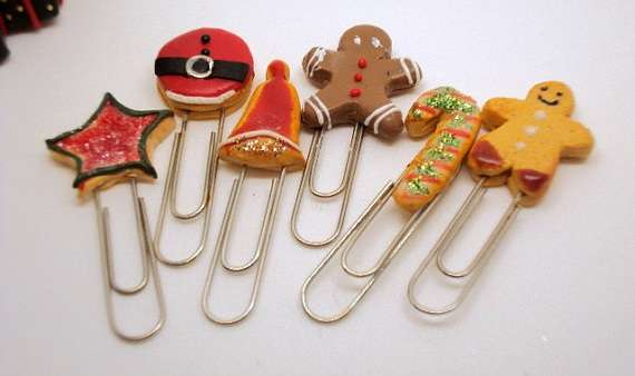 Festive Pastry Paperclips