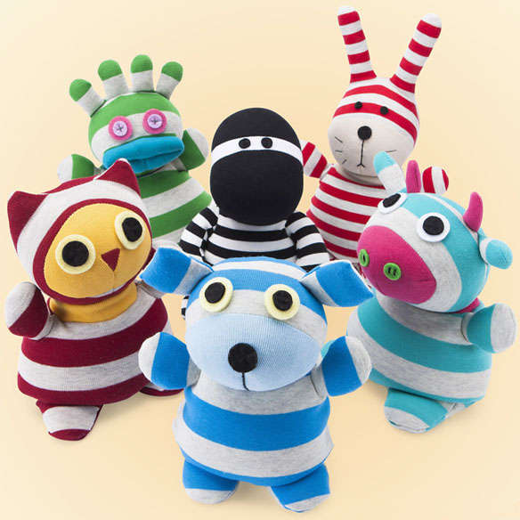 Microwaveable Plush Dolls