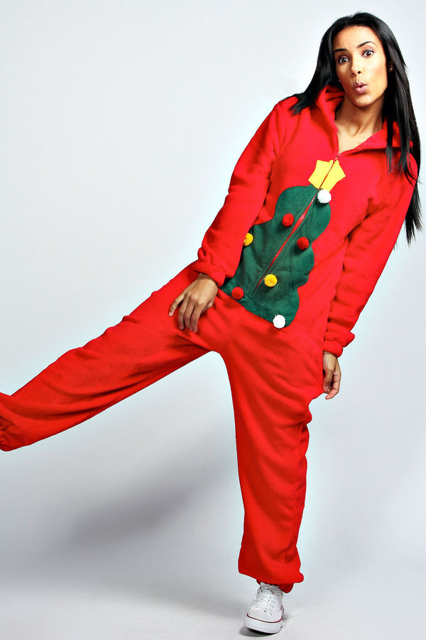 99945ae701 Cozy Holiday Jumpers   Christmas Tree Onesie