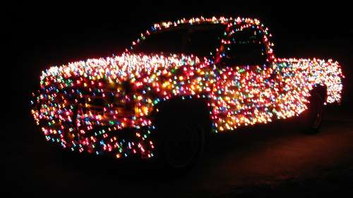 Light-Up Pick-Up Trucks