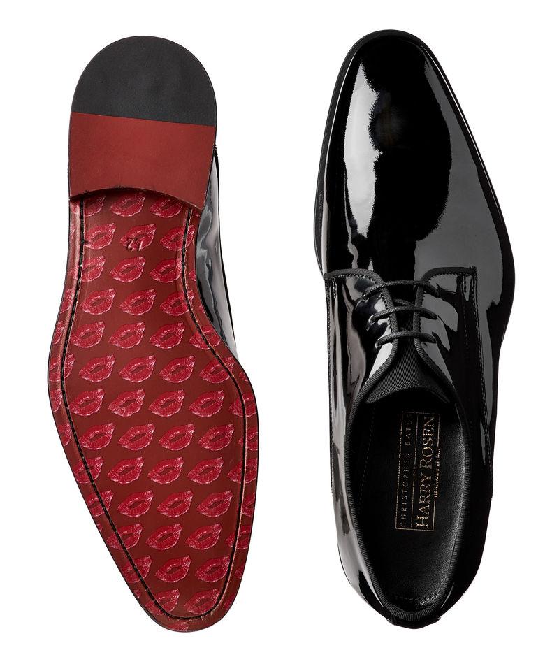 Lipstick Print-Soled Footwear