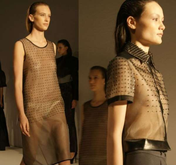 Sheer Dotted Fashion
