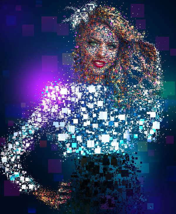 Digital Mosaic Masterpieces